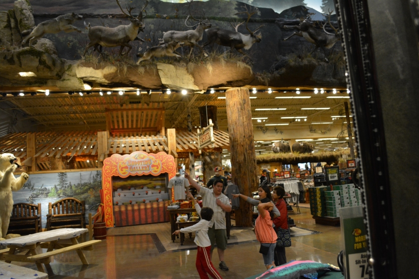 Anchorage Ahtna Language  Group Field Trip to the Anchorage Bass Pro Shop